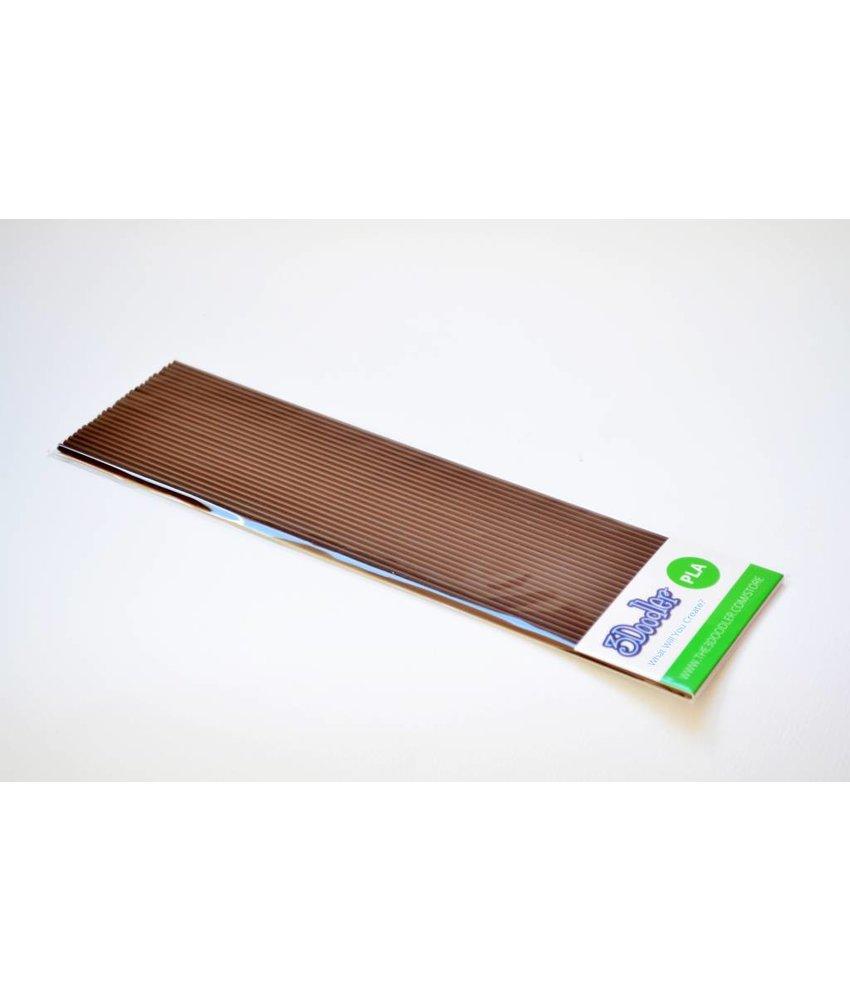 3Doodler Brownie Brown Pack PLA