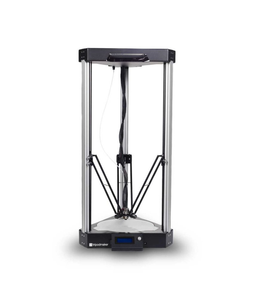 TripodMaker Black Edition Delta 3D-printer REFURBISHED