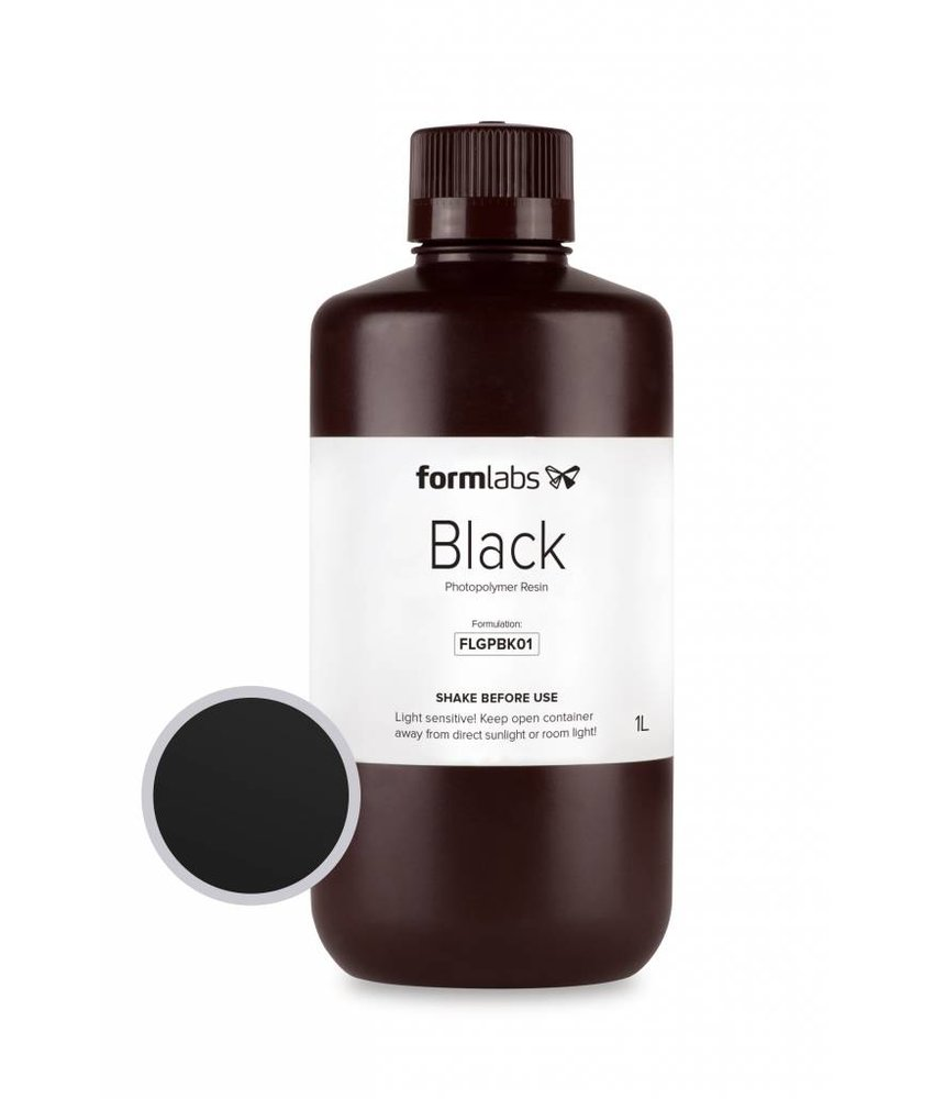 Formlabs Resin Black 1L Bottle voor de Form 1+