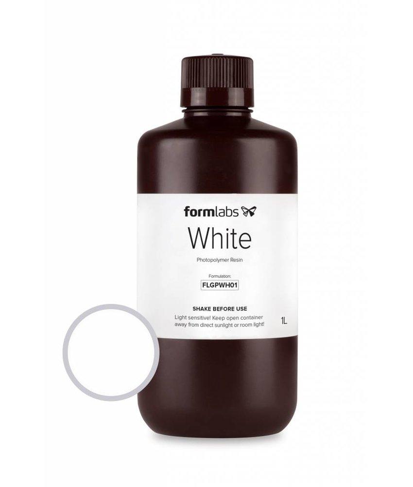 Formlabs Resin White 1L Bottle voor de Form 1+
