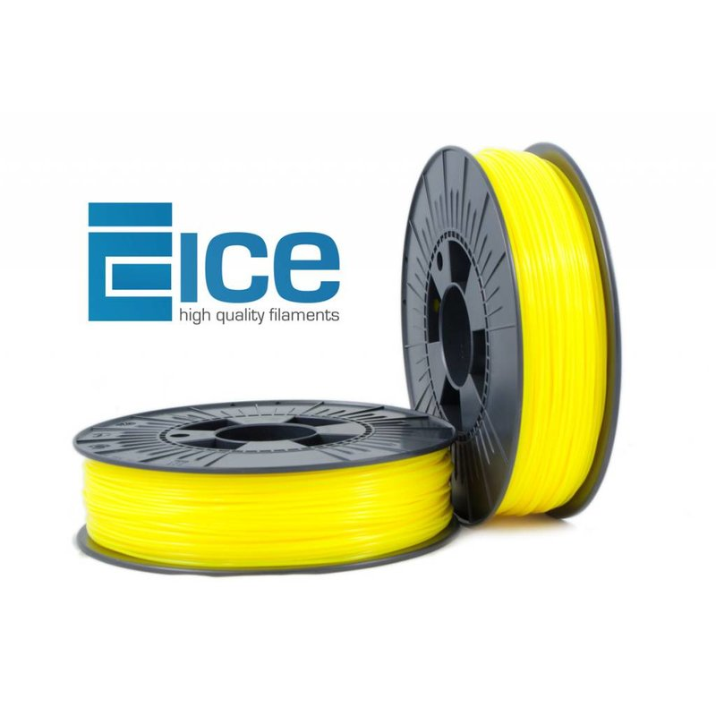 ICE Filaments ABS 'Young Fluo Yellow'