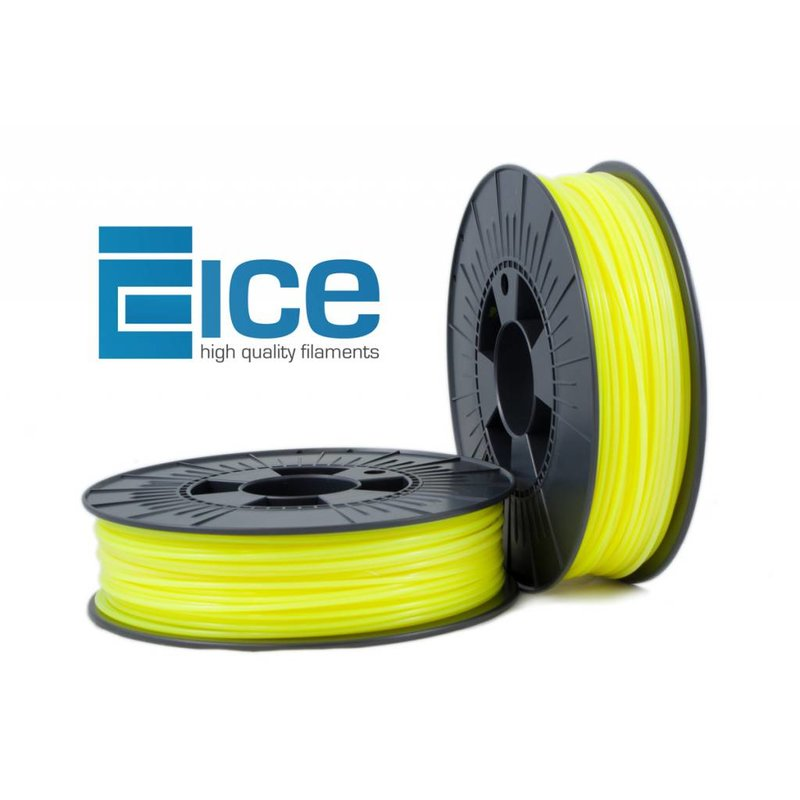 ICE Filaments PLA 'Fluo Young Yellow'