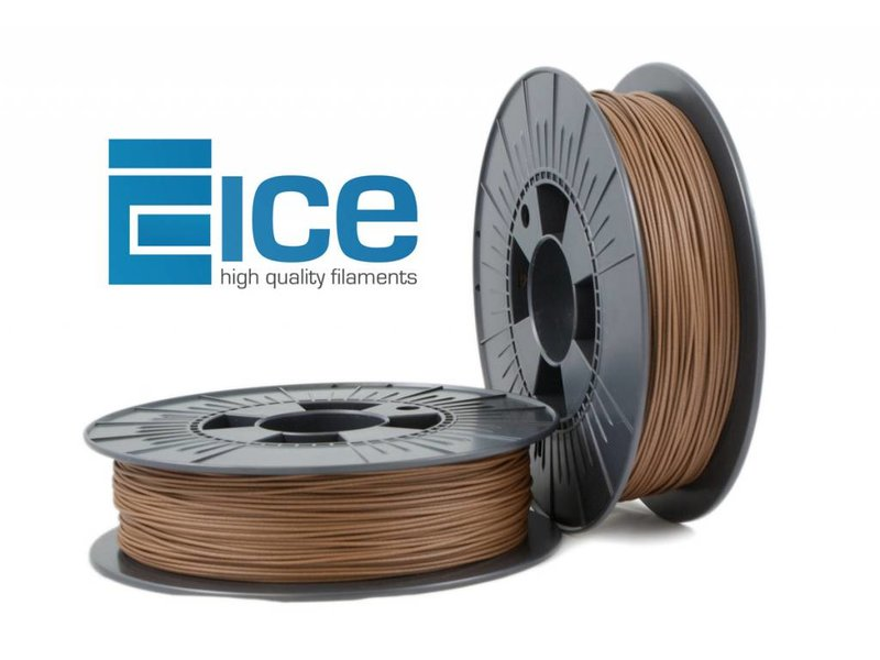 ICE Filaments ICE-wood 'Barnyard Brown'