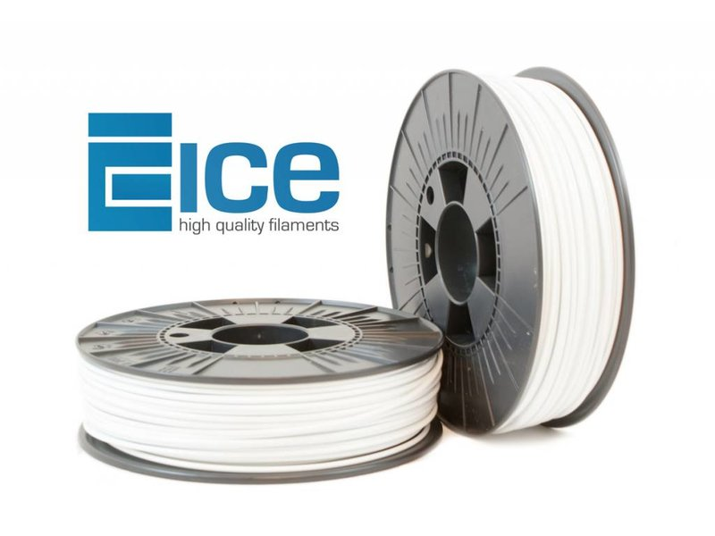 ICE Filaments PLA 'Wintershine White'