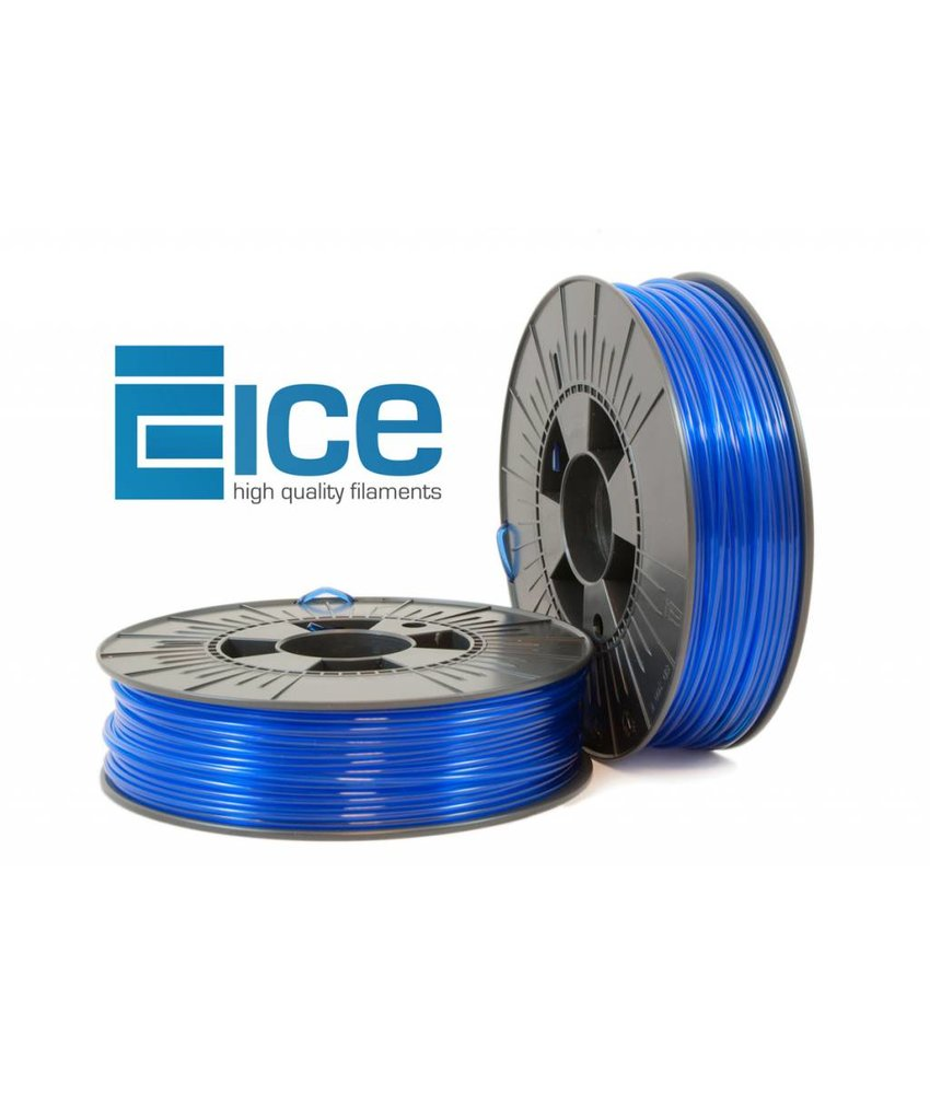 ICE Filaments ICE-pet 'Transparant Bold Blue'