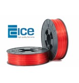 ICE Filaments ABS + 'Transparent Romantic Red'