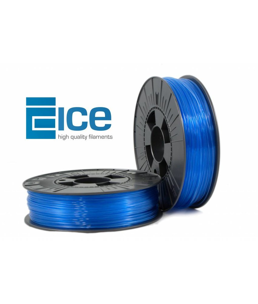 ICE Filaments ABS + 'Transparent Bold Blue'