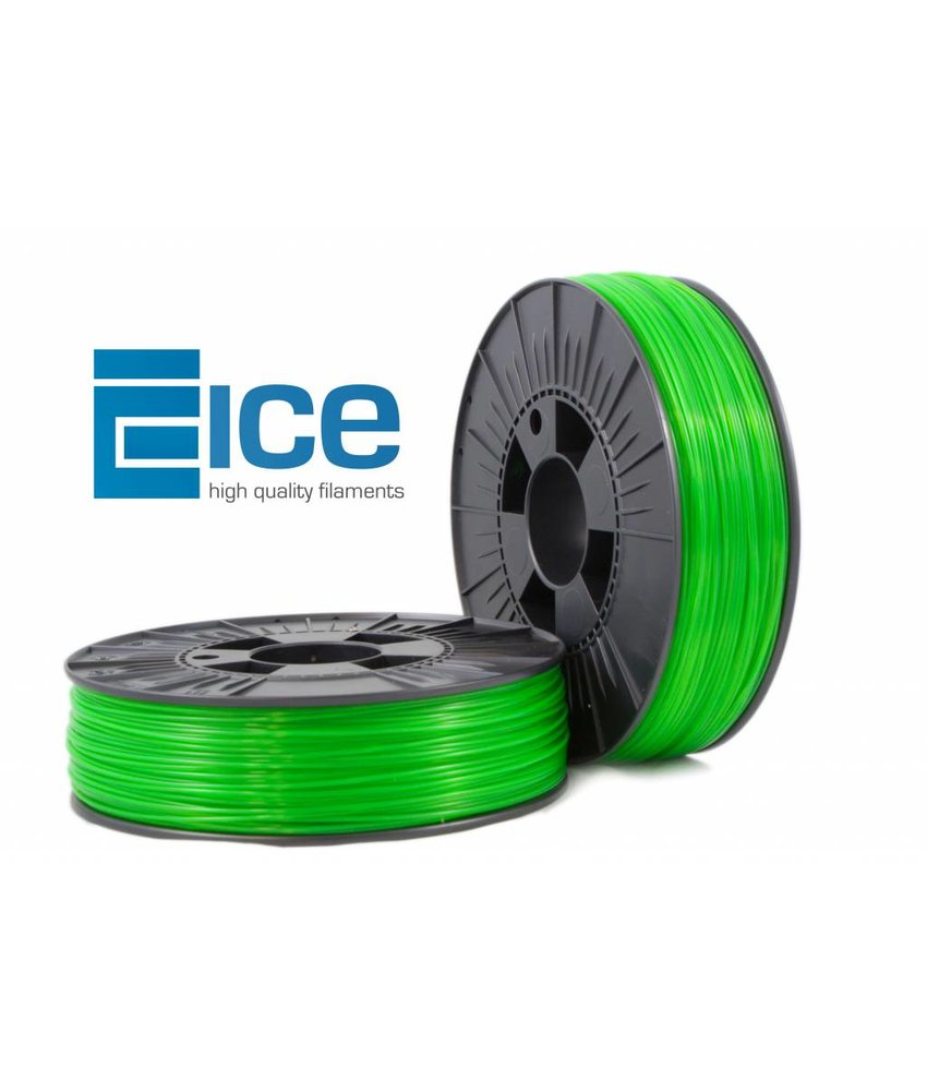 ICE Filaments ABS + 'Transparent Gracious Green'