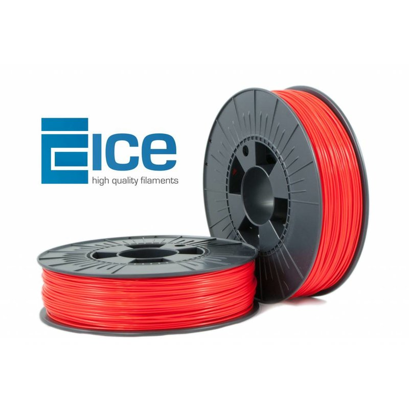 ICE Filaments ABS + 'Romantic Red'