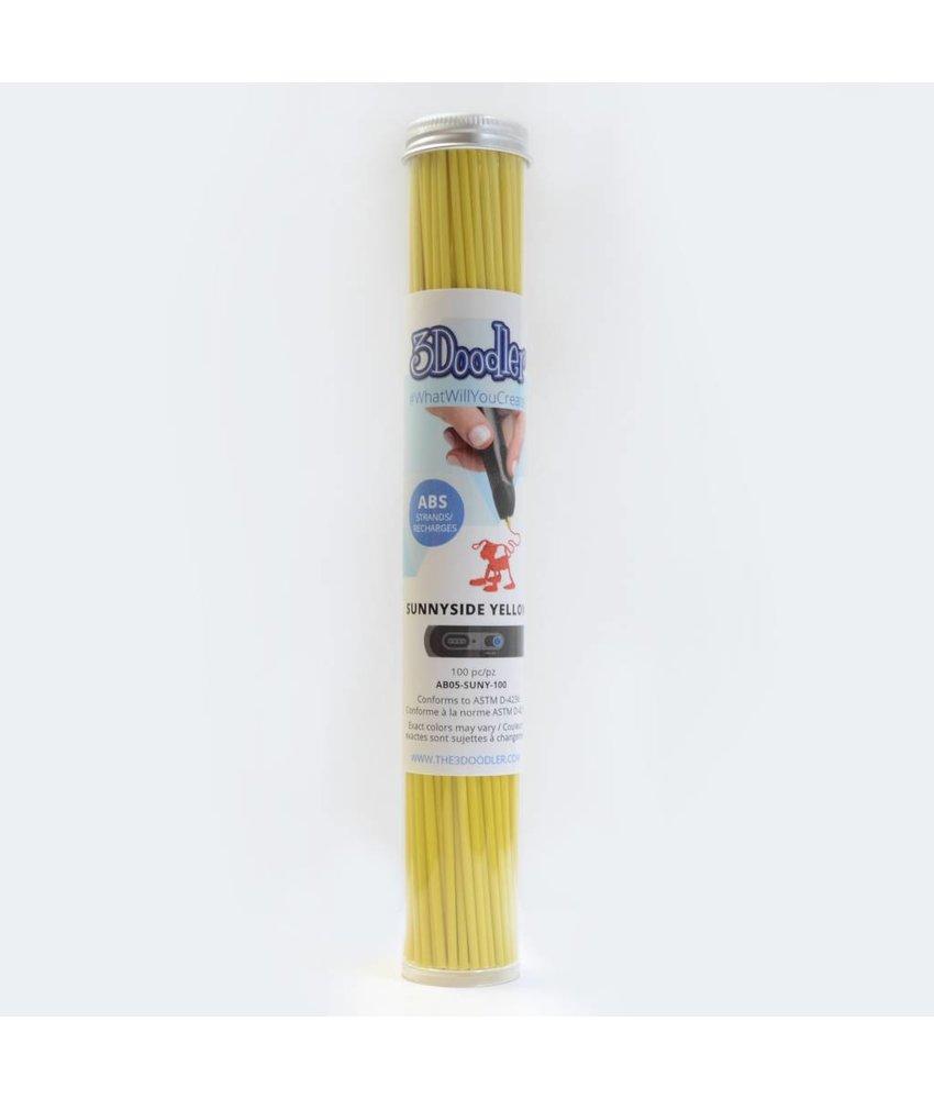 3Doodler Sunnyside Yellow ABS Tube