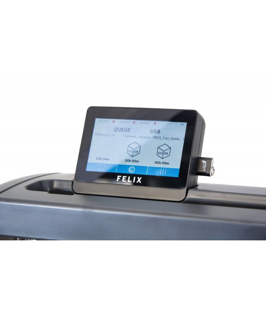 Felix Printers Pro 2 - Touchscreen with WIFI add-on