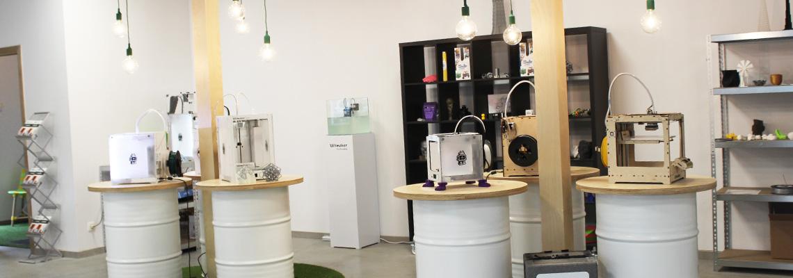 Trideus showroom