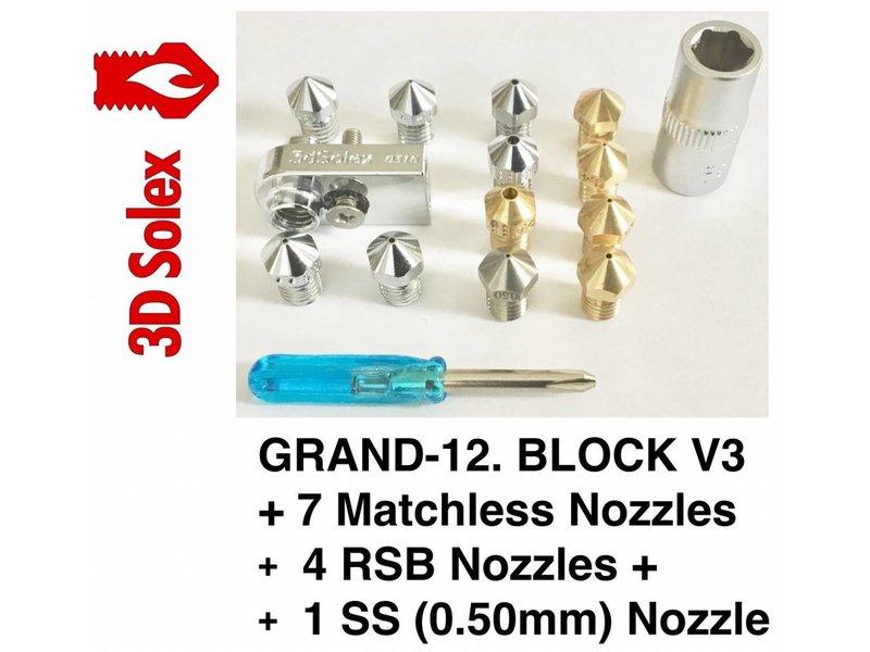 3D Solex Matchless Grand-12