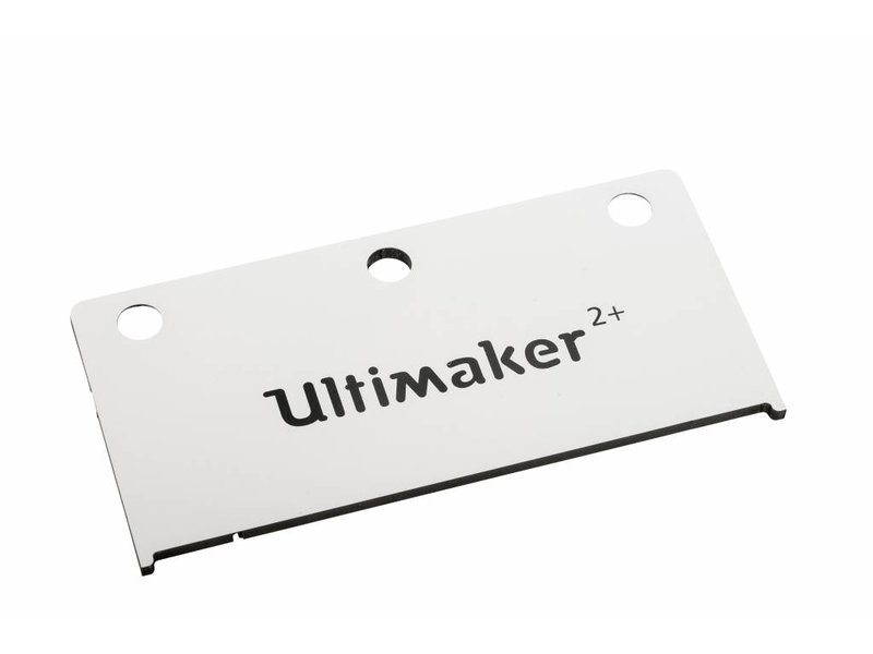Ultimaker Print Table Back Cover (#2282)