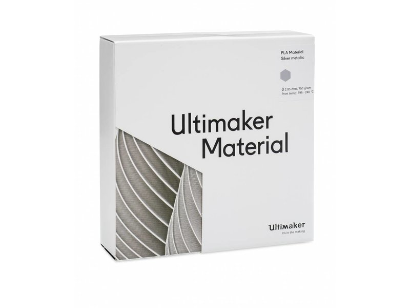 Ultimaker PLA Silver-Metallic (NFC) (#1612)