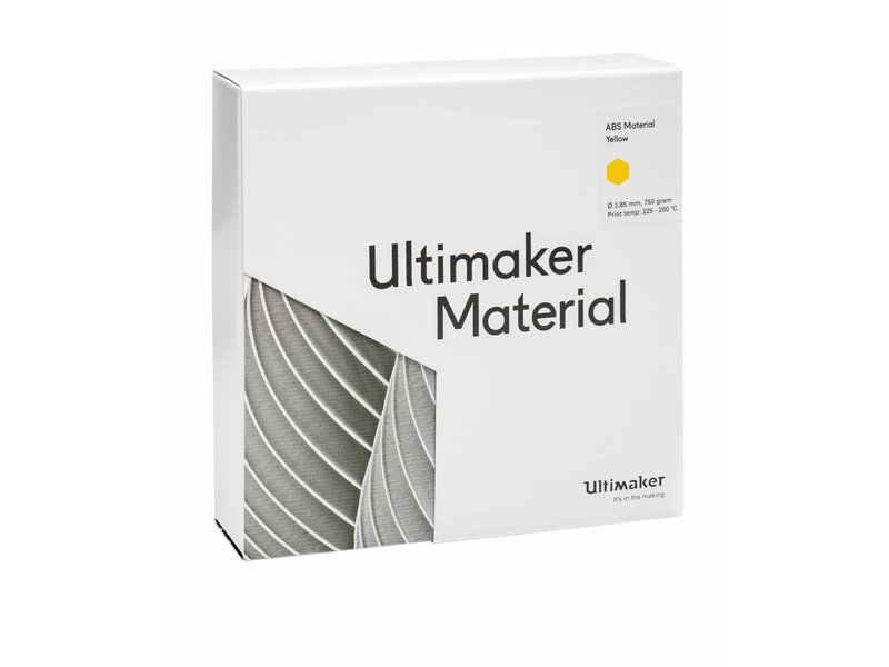 Ultimaker ABS Yellow (NFC) (#1629)
