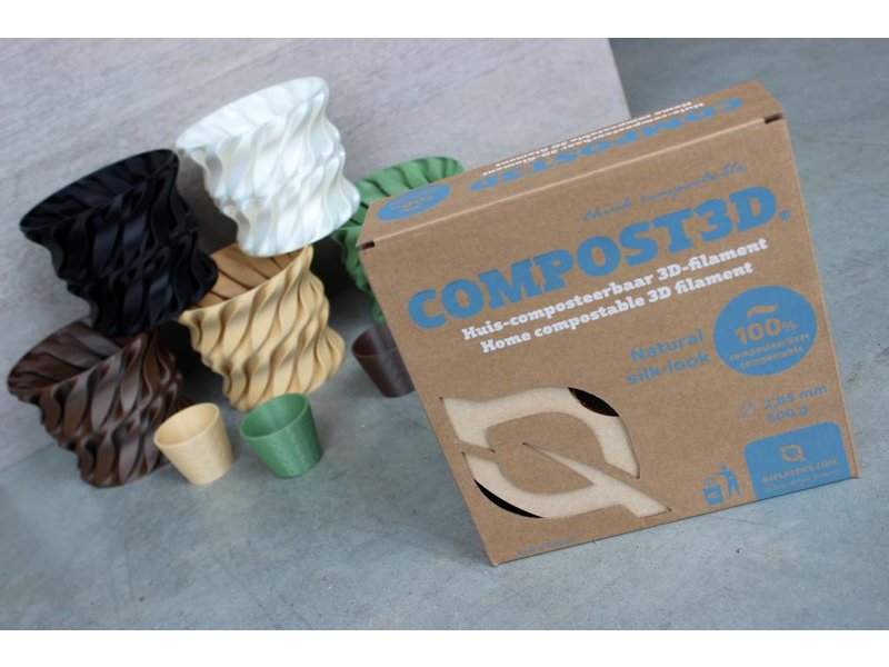 B4PLastics Compost3D Leaf Green
