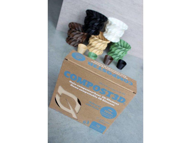 B4PLastics Compost3D LeafGreen