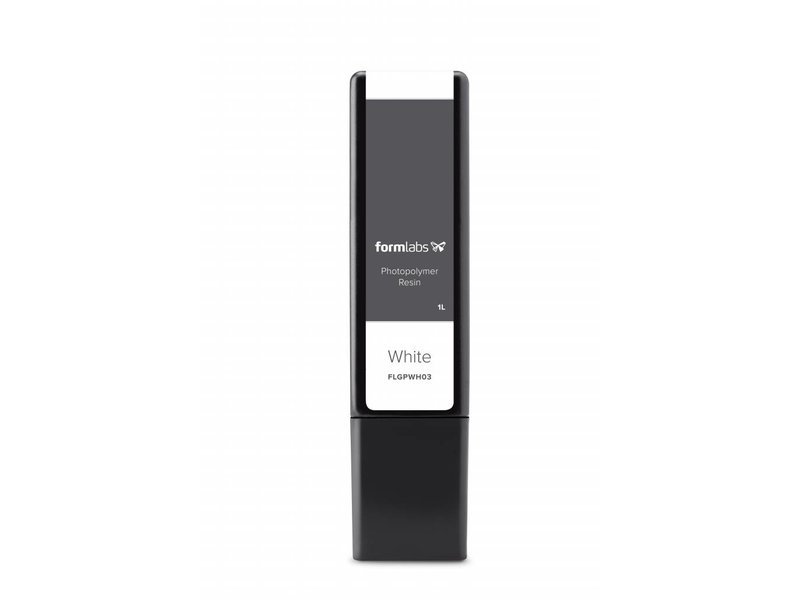 Formlabs White v3 Resin Cartridge 1L voor Form 2