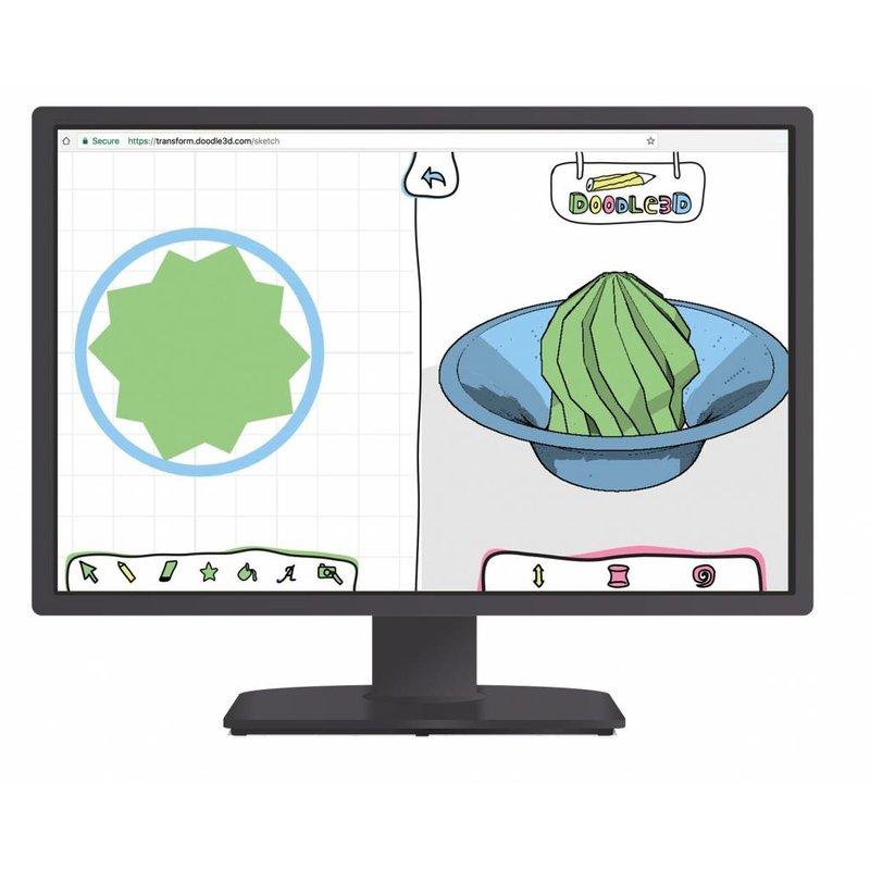 Doodle3D Transform (1 year software)
