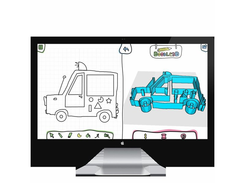 Doodle3D Wifi-Box (with Sketch App) + Transform (1 year) Bundle