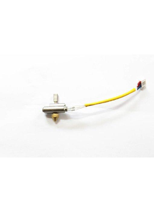Tiertime Nozzle heater v5 - 8mm brass nozzle