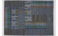 Suri 36 - Vintage vloerkleed in meerdere Blauw tinten