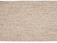 Vloerkleed van 100% wol in beige-mix kleurstelling