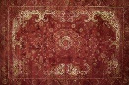 Angkor vintage vloerkleed 45 Rood