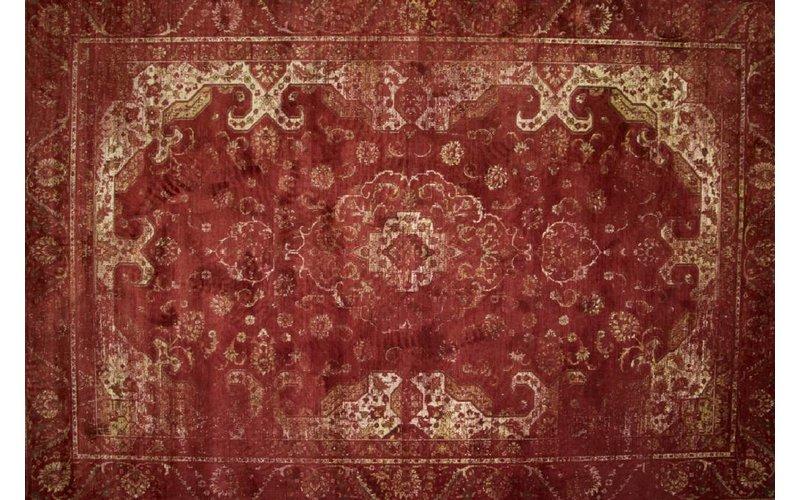 Vintage vloerkleed rood Angkor-45