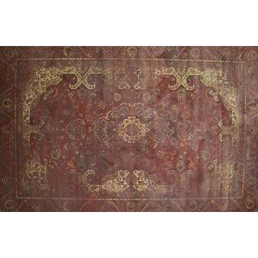 Angkor vintage vloerkleed 43 Rood-Roze
