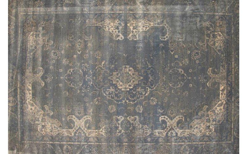 Vintage vloerkleed grijs Angkor-21