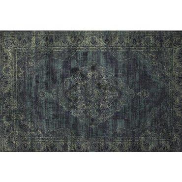 Angkor vintage vloerkleed 35 Donkerblauw/Grijs