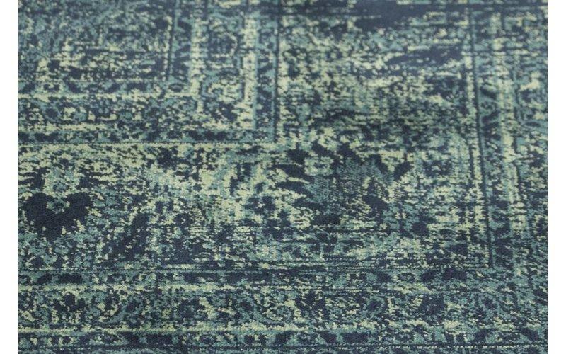 Vintage vloerkleed donkerblauw Angkor-35