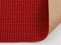 Frans Molenaar vloerkleed van 100% wollen garen in rode kleurensamenstelling