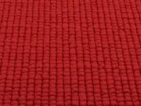 Beach Life 45 - Frans Molenaar vloerkleed van 100% wollen garen in Rode kleurensamenstelling