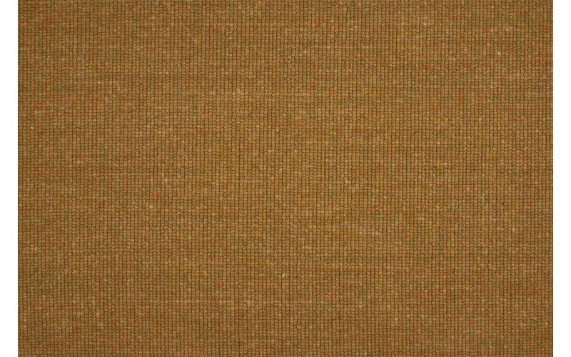 Frans Molenaar vloerkleed van 100% wollen garen in oker