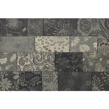 Floorpassion Vintage vloerkleed zwart Châtel-24