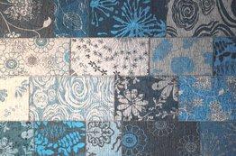 Châtel - Rozenkelim Châtel 34 Blauw