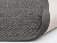 Sisal vloerkleed donkergrijs Premium-24