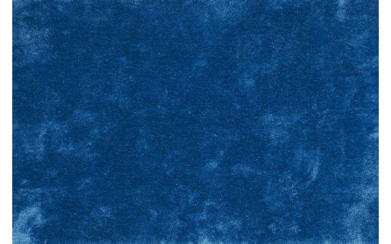 Ross 33 - Prachtig hoogpolig vloerkleed in blauwe garensamenstelling
