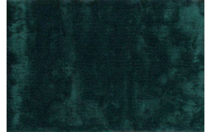 Ross 34 - Uniek hoogpolig vloerkleed in petrol kleursamenstelling