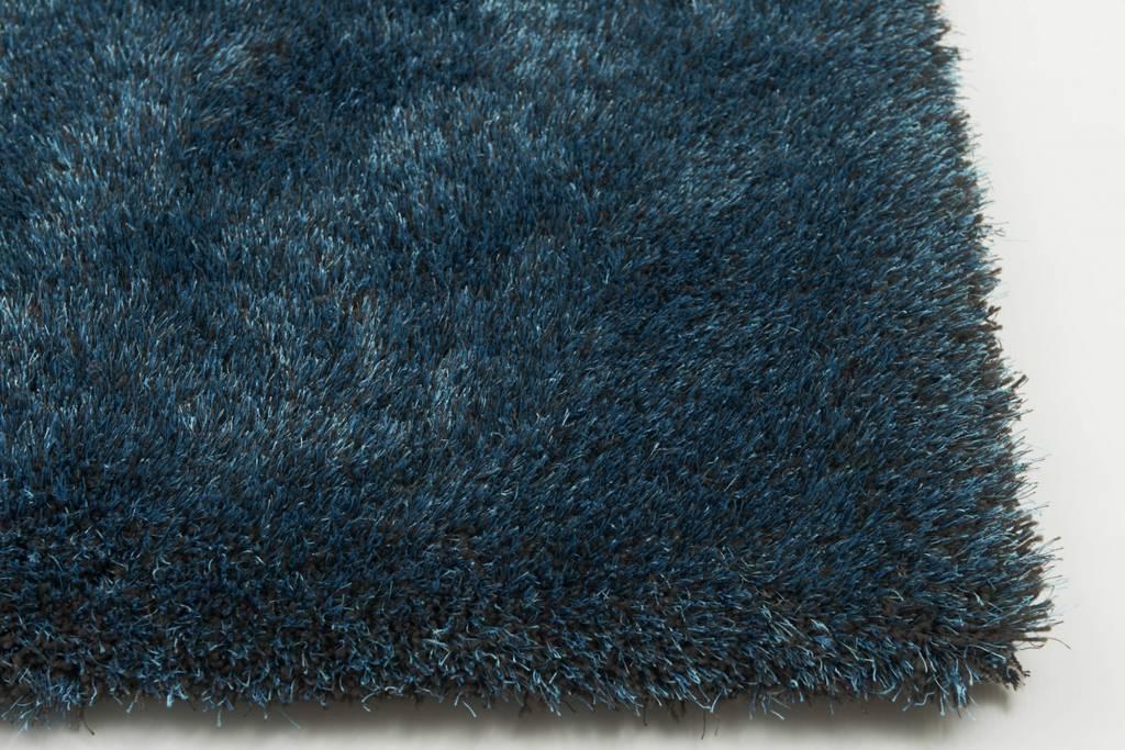Woonkamer vloerkleed petrol - Scandinavische blauwe ...