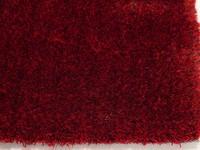 Ross 44 - Hoogpolig vloerkleed met rode garensamenstelling