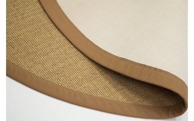 Premium 15 - Rond sisal vloerkleed met fijn geweven structuur