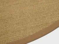 Vloerkleed Rond Premium Sisal 15 Bruin/Oranje
