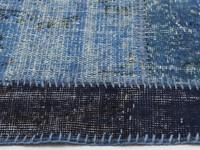 Dankzij de unieke blauwe kleuren zeer modern en toch ook een klassiek Rivièra Maison vloerkleed