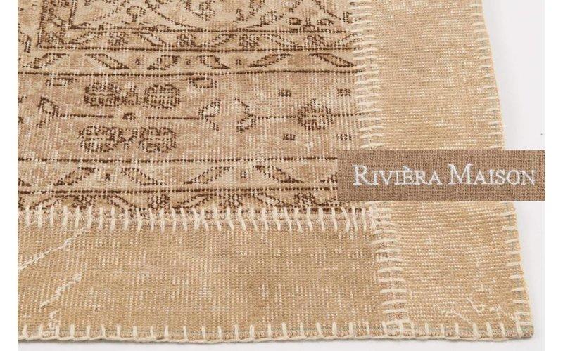 Vloerkleed Rivièra Maison Rajasthan Place 12 Beige