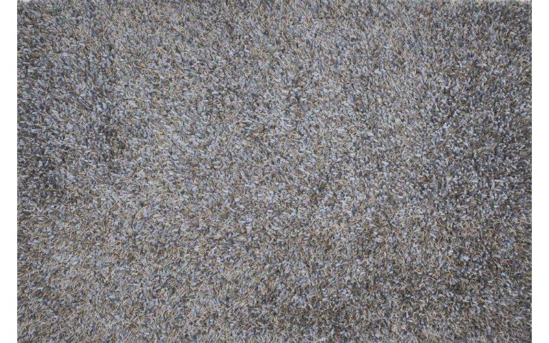 Prachtig hoogpolig vloerkleed in lichtblauwe poedertinten