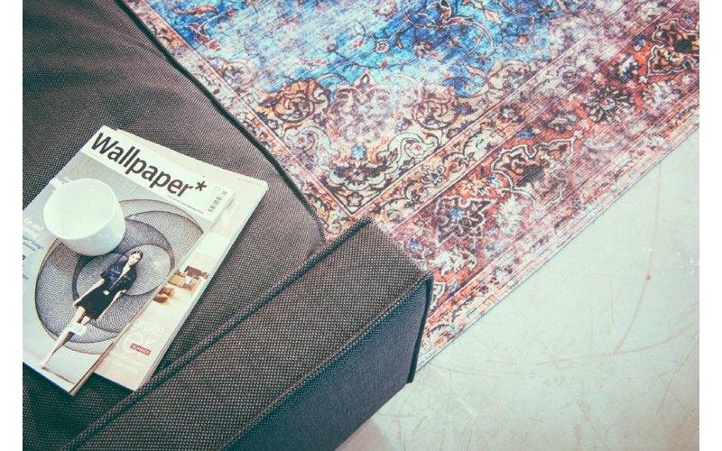 Sienna 99 - Vintage vloerkleed in Multi kleurensamenstelling